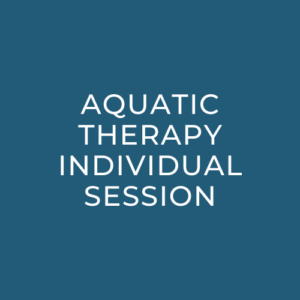Aquatic Therapy Individual Session